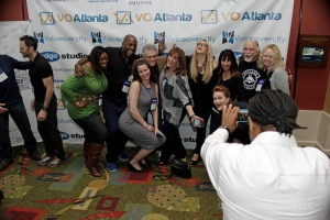 VO Atlanta conference 2015. Various attendees and presenters.